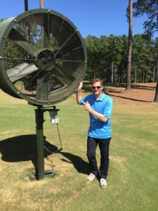 Subair Systems TurfBreeze Fan