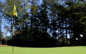 SubAir TurfBreeze fan placement next to golf green