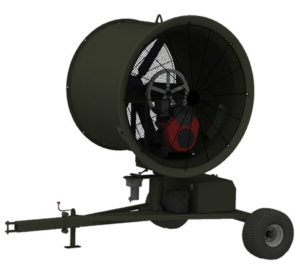 TurfBreeze portable fan