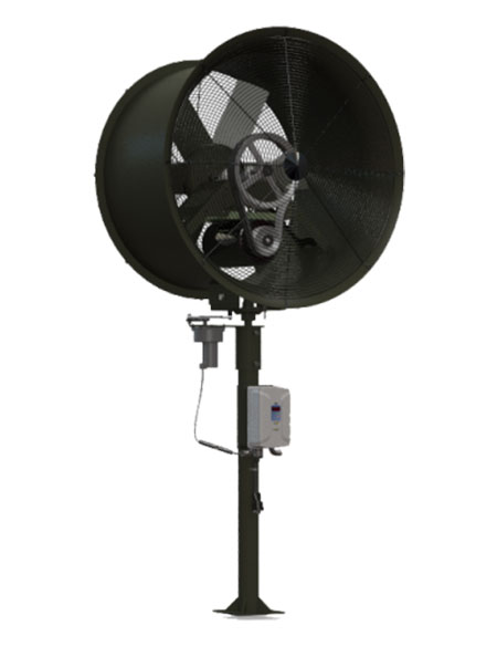 "TurfBreeze 50"" In-ground fan"