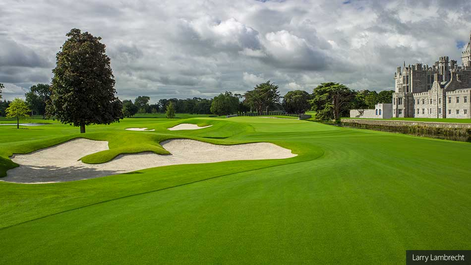 15th hole at Adare Manor