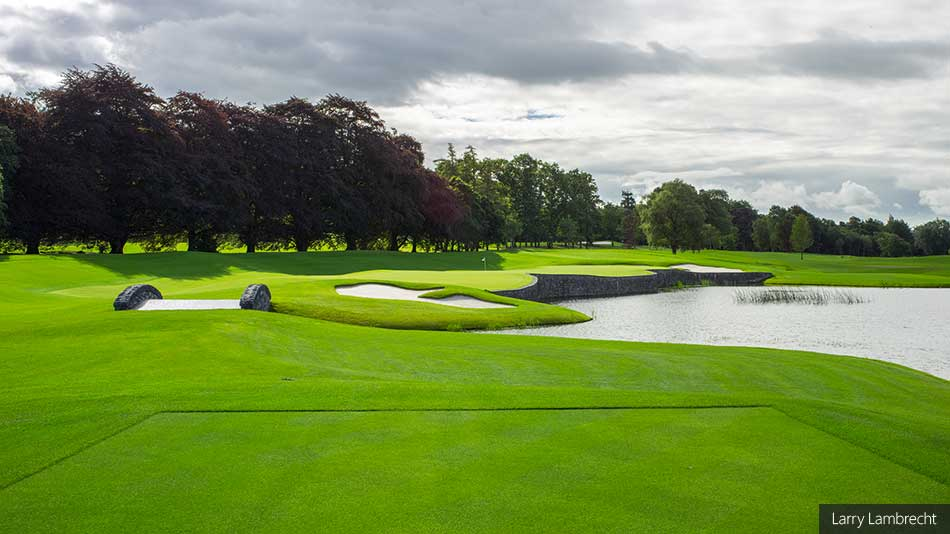 16th hole at Adare Manor