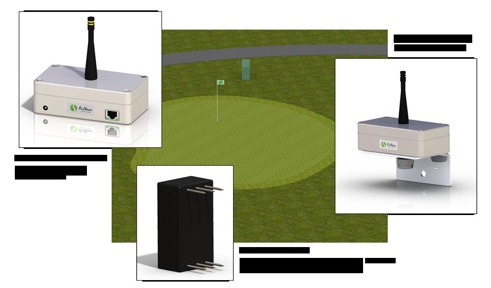 SubAir Systems AirWave Remote Turf Monitoring System