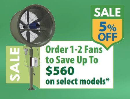 SubAir Systems TurfBreeze Fan Promo