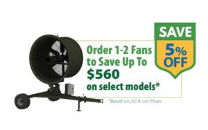 SubAir Systems TurfBreeze Fan Promo 2