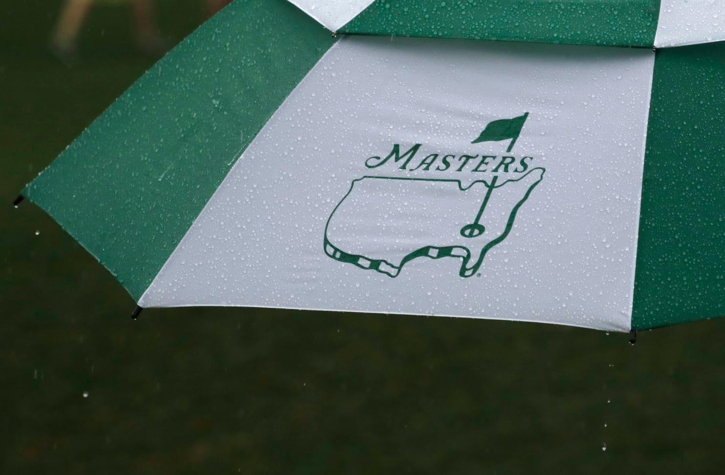 Rain at the Masters 2019